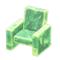 Frozen Chair (Ice Green) NH Icon.png