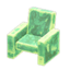 Frozen Chair (Ice Green)