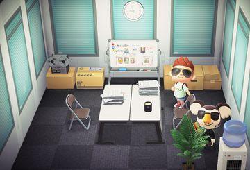 Interior of Eugene's house in Animal Crossing: New Horizons