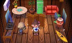 Shep's house interior