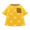 Labelle Knit Shirt (Sunset) NH Icon.png