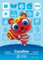 290 Caroline amiibo card NA.png