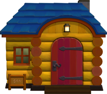 Exterior of Ricky's house in Animal Crossing: New Horizons