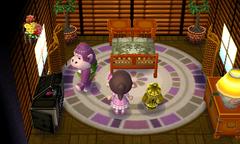 Violet's house interior