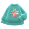 Mom's Hand-Knit Sweater (Star) NH Icon.png