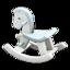 Rocking Horse (White)