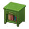 Wooden End Table (Green) NH Icon.png