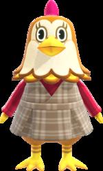 Artwork of Ava the Chicken