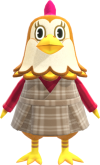 Ava, an Animal Crossing villager.