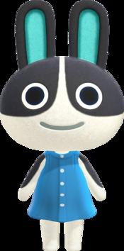 Dotty, an Animal Crossing villager.