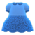 Floral Lace Dress (Blue) NH Icon.png