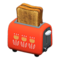 Pop-Up Toaster (Red) NH Icon.png