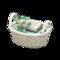 Rattan Towel Basket (White) NH Icon.png