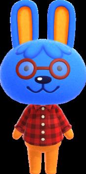 Doc, an Animal Crossing villager.