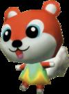 Kit, an Animal Crossing villager.