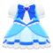 Magical Dress (Blue) NH Icon.png