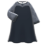 Mysterious Dress (Black) NH Icon.png
