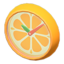 Orange Wall-Mounted Clock (Orange) NH Icon.png