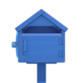 Blue Wooden Mailbox NH Icon.png