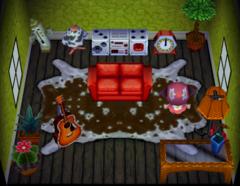 Petunia's house interior