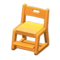 Study Chair (Light Brown - Yellow) NH Icon.png