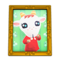 Chevre's Photo (Gold) NH Icon.png