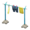 Clothesline Pole (Blue - Carrot) NH Icon.png