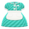 Diner Uniform (Aquamarine) NH Icon.png