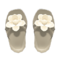 Flower Sandals (White) NH Icon.png