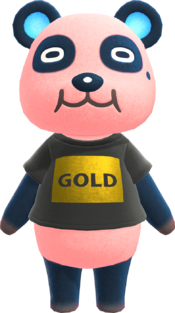 Chow, an Animal Crossing villager.