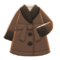 Gown Coat (Brown) NH Icon.png