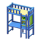 Loft Bed with Desk (Blue - Yellow) NH Icon.png