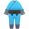 Ninja Costume (Aqua) NH Icon.png