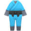 Ninja Costume (Aqua) NH Icon.png
