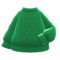 Aran-Knit Sweater (Green) NH Icon.png