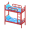 Bunk Bed (Red - Space) NH Icon.png