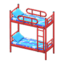 Bunk Bed (Red - Space)
