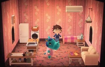 Interior of Bertha's house in Animal Crossing: New Horizons
