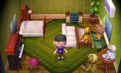 Maple's house interior