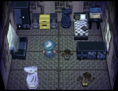 Rolf's house interior
