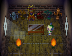 Rollo's house interior