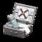 Picnic Basket (Gray) NH Icon.png