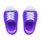 Rubber-Toe Sneakers (Purple) NH Icon.png