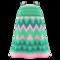 Zigzag-Print Dress (Green) NH Icon.png