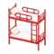 Bunk Bed (Red - White) NH Icon.png