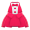 Chic Tuxedo Dress (Red) NH Icon.png