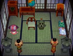Cyrano's house interior