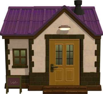 Exterior of Kidd's house in Animal Crossing: New Horizons