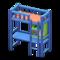 Loft Bed with Desk (Blue - Orange) NH Icon.png