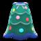 Festive-Tree Dress (Green & Blue) NH Icon.png